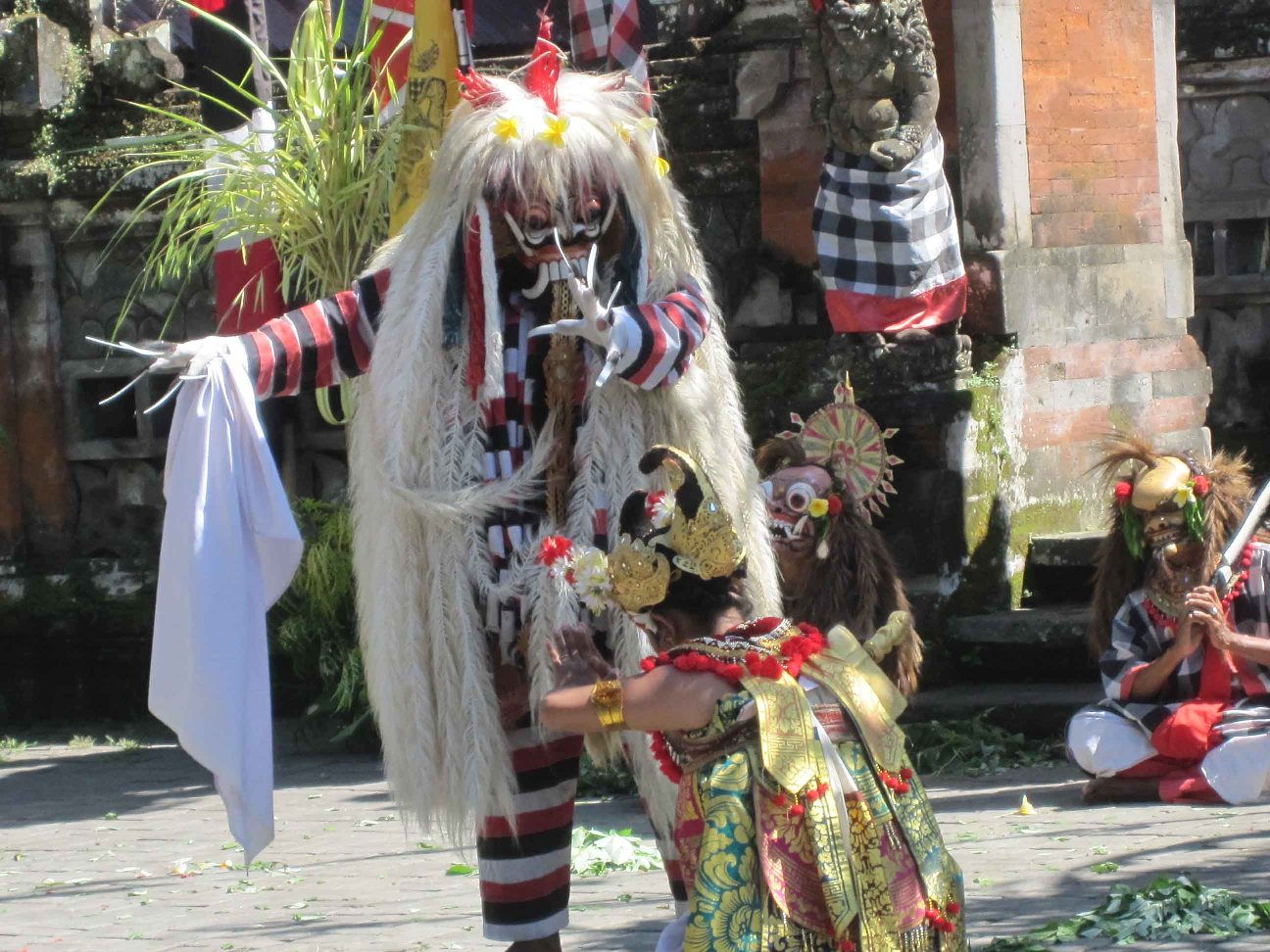Balinese Masks in Temples, Performances, and Tourist Shops