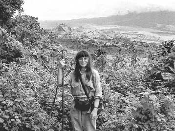On Mt. Mikeno in Congo (near Akeley's grave site). Photo courtesy of George Rowbottom.
