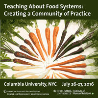 A poster for the food systems workshop