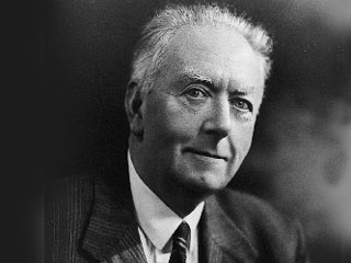 Sir Arthur Holmes (1890-1965), the British geologist who contributed to our understanding of Earth's age. Photo courtesy of University of Edinburgh, Department of Geology and Geophysics.