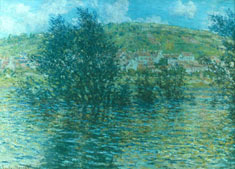 Claude Monet: Seine. Oil on canvas, 1879. The Granger Collection, New York