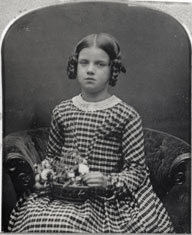 Portrait of Darwin's daughter Annie Darwin Heirlooms Trust, © English Heritage Photo Library B990676