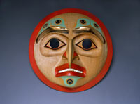 """I Can See In All Directions"" Eagle Mask William Kuhnley (Nuu-chah-nulth)"