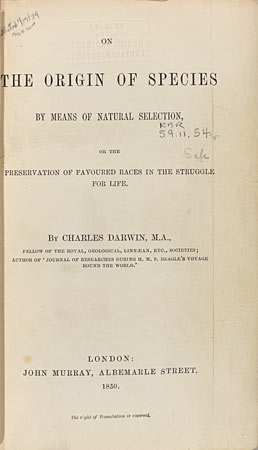 origin of digital species essay Drawings on draft pages of origin of species & on the amnh darwin manuscripts project is a historical and textual of the charles darwin papers in.