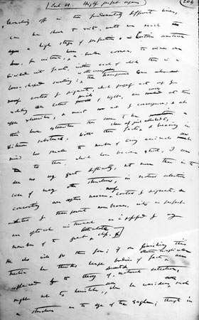 "Manuscript by Charles Darwin: ""Sketch"" of 1842 ©The Syndics of Cambridge University Library DAR 6"