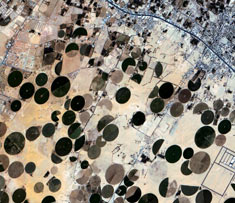 Saudi Arabia Desert Courtesy of the TopSat Consortium © QinetiQ