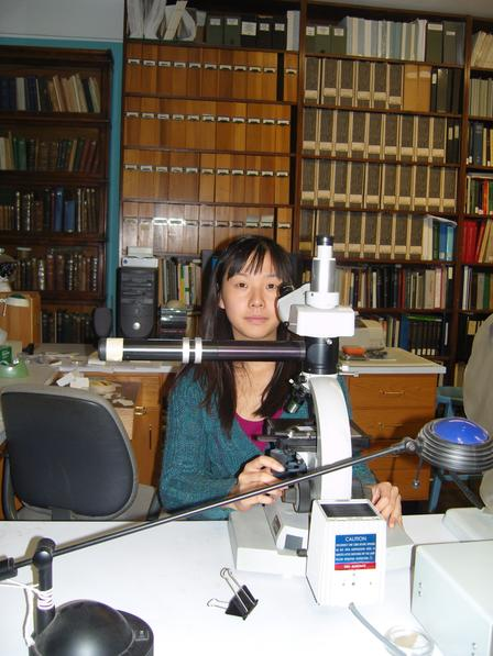 Isabelle Vea Microscope