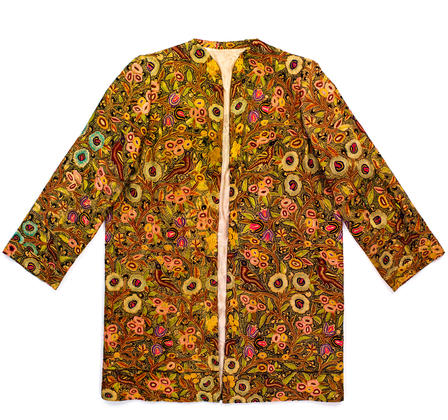 This intricately embroidered jacket is one of the Museum's newest acquisitions. © AMNH/D. Finnin