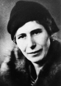 Dr. Inge Lehmann (1888-1993), discoverer of the Earth's inner core. Photo courtesy of B.A. Bolt.