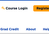 the link to login to the course site, located at the top-right of this page