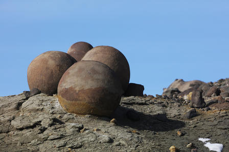 Antarctica concretions