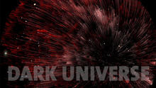 Dark Universe Red Shift with Letters