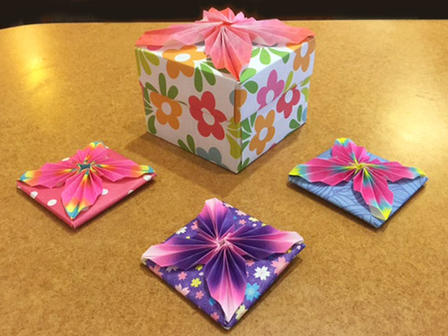 Origami Folding Fun Sessions 12 03 2017