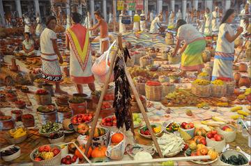 How aztecs produced food essay example