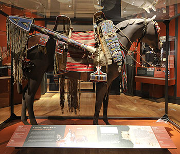 Crow Woman's Horse Gear. Denis Finnin/AMNH
