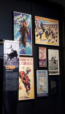 Rodeo posters. Denis Finnin/AMNH
