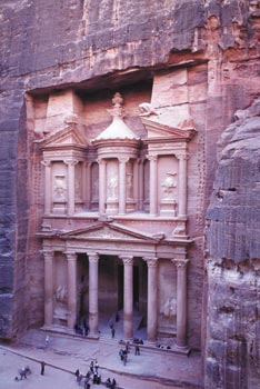 The city of Petra in Jordan Photo: © Jordan Tourism Board, North America