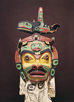 Q 'o'Mogoa Mask Artist Unknown (Kwakwaka'wakw)