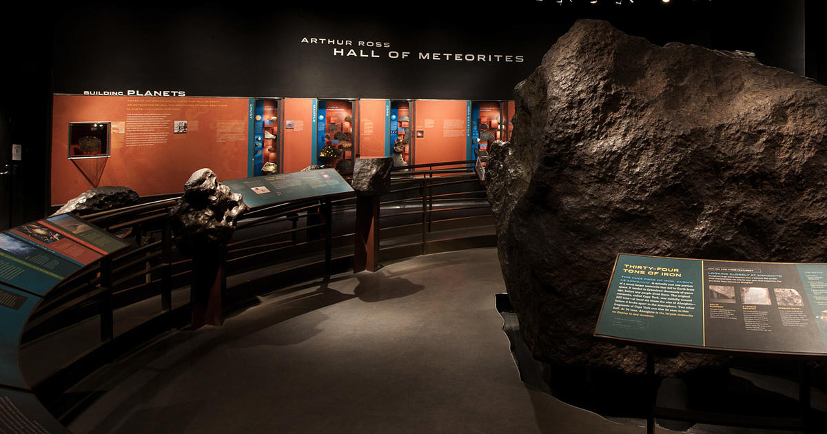 Hall of Meteorites | American Museum of Natural History