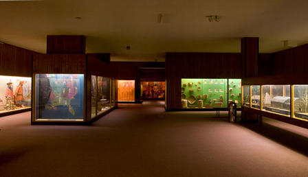 Hall of Eastern Woodlands Indians