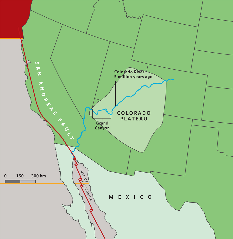 Colorado Plateau Map