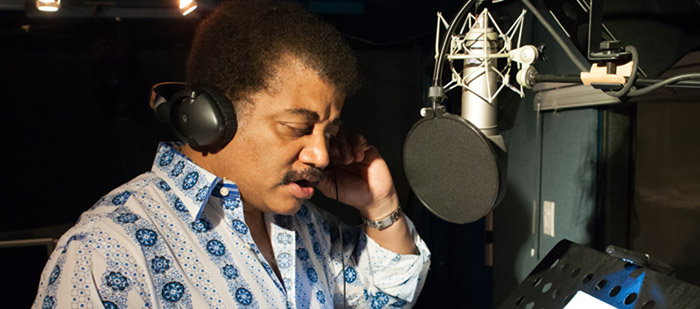 Neil deGrasse Tyson Narrating Dark Universe Interior