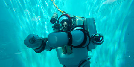 Exosuit Test Dive