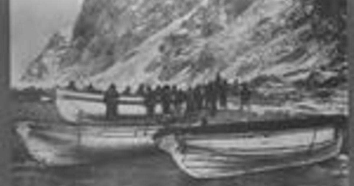 Excerpt: The Voyage of the James Caird by Ernest Shackleton
