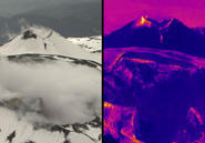 Thermal imaging reveals where Etna is warming under the surface. AMNH