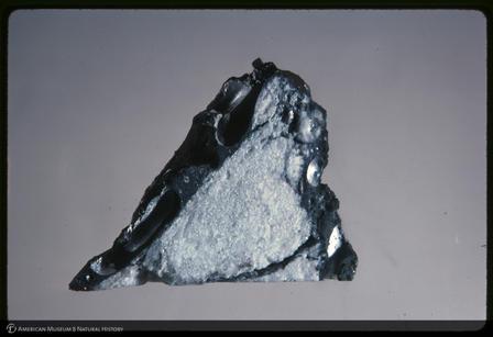 Ένα δείγμα σεληνιακού βράχου.