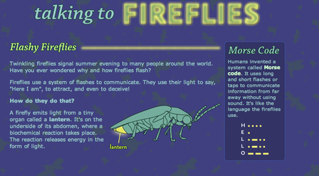 Talking to Fireflies Screenshot April 17 2013