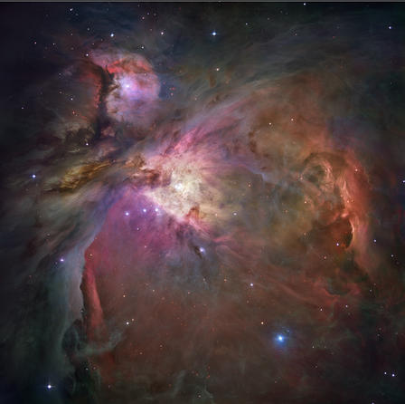 Orion From Hubble