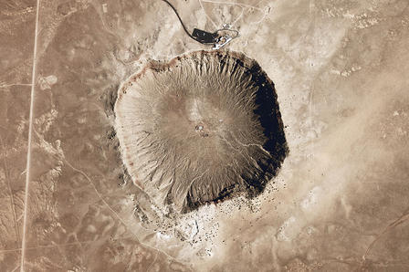 Meteor Crater NASA Earth Observatory