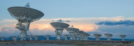 Very Large Array Telescope in New Mexico