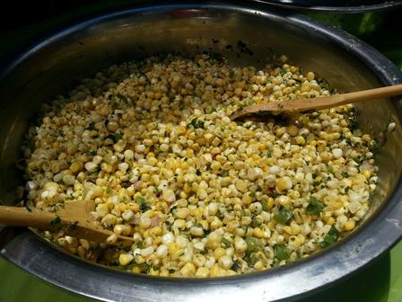 Harlem Seeds' fresh corn salad