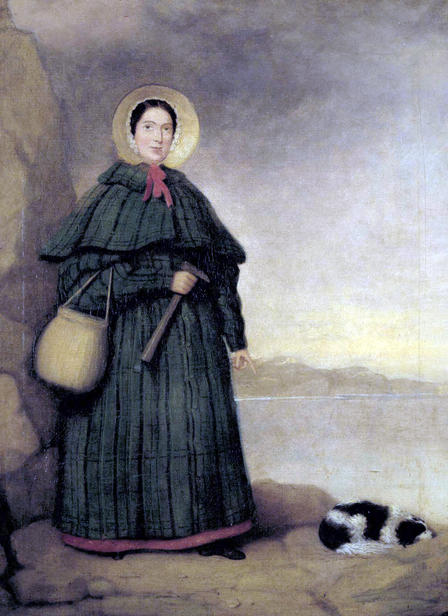 Mary Anning Painting