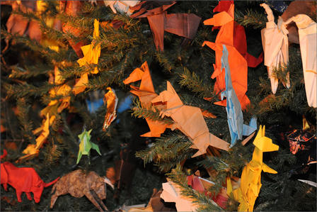 Kangaroos, Origami Holiday Tree 2012