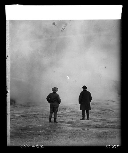 TR and John Burroughs at Yellowstone