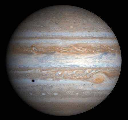 Jupiter  Credit: NASA/JPL