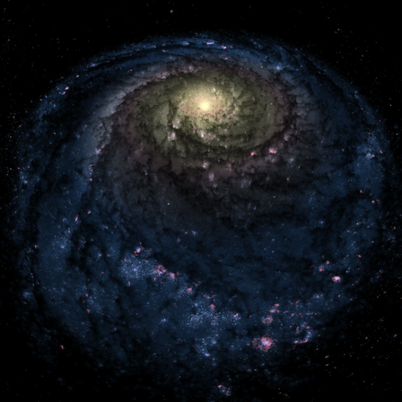 Cosmic Milky Way