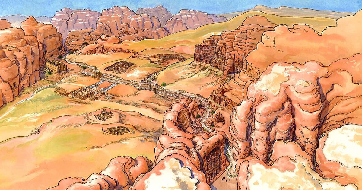 A Walk Through the Ruins of Petra | AMNH
