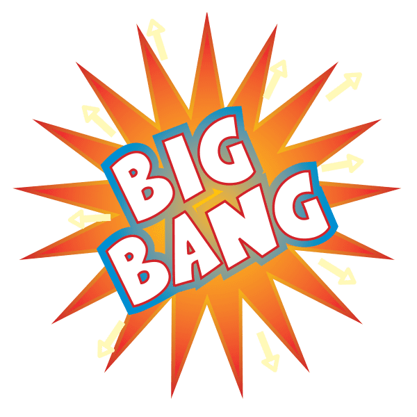 Big Bang explosion icon