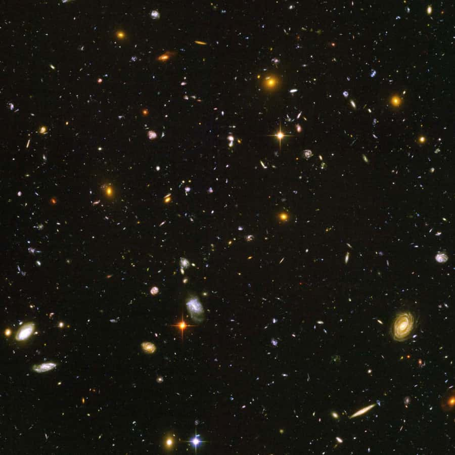 bright blobs in the universe