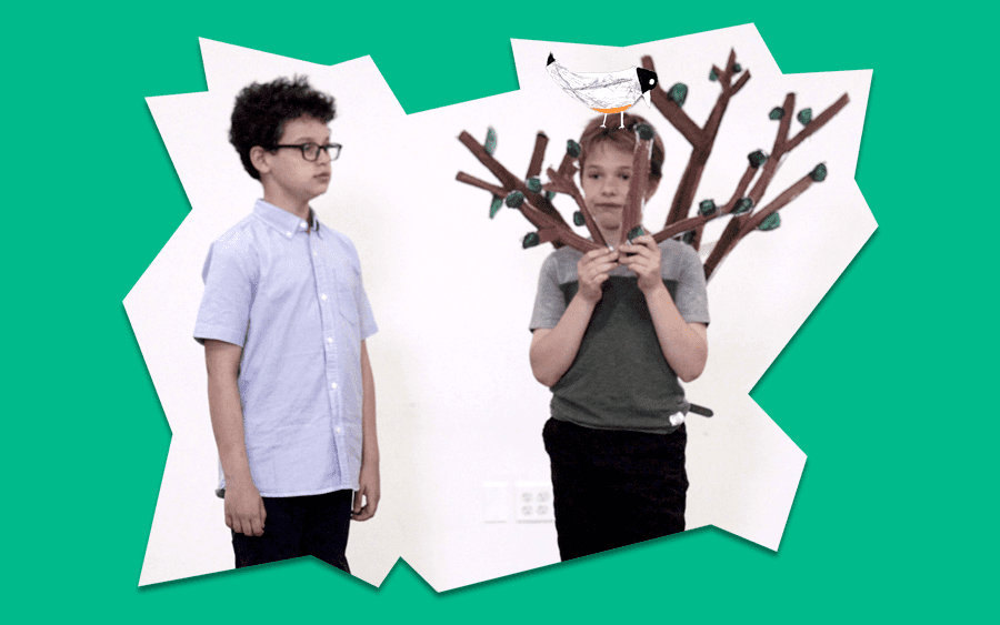 scene from video A Message from Mr. Tree