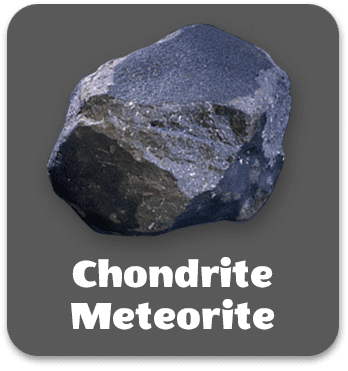 click to read about chondrite meteorite