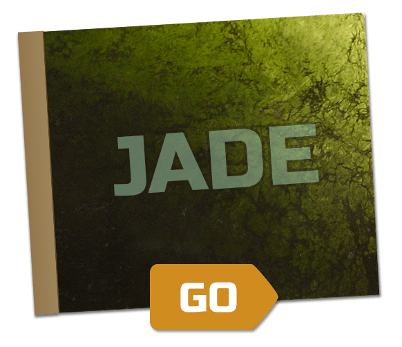 Jade Scrapbook with go button