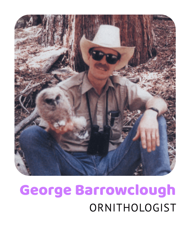 George Barrowclough, Ornithologist