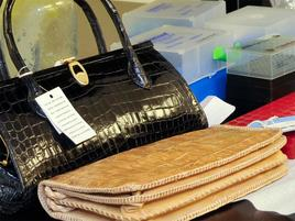 seized and tagged handbags