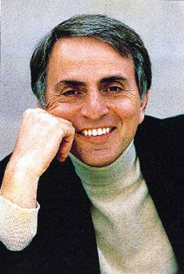 Carl Sagan (1934-1996), American planetary astronomer, exobiologist, popular educator, and advocate for science. Portrait of Carl Sagan courtesy of Andy Levin/PARADE.