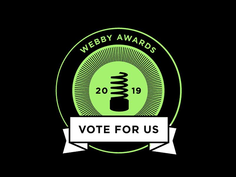 2019 Webby Award Nominations